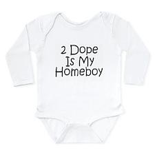 Is My Homeboy Long Sleeve Infant Bodysuit