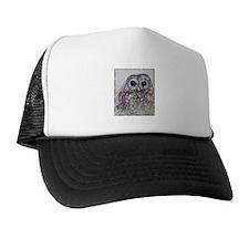 Owl! Wildlife art! Trucker Hat