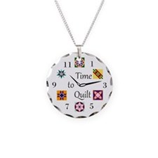 Cute Quilters Necklace