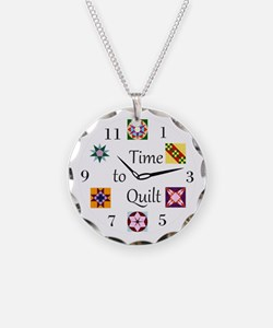 Cute Quilting Necklace