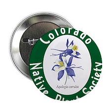 """Colorado Native Plant Society 2.25"""" Button"""