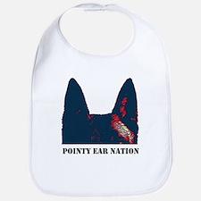 Pointy Ear Nation Bib