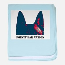 Pointy Ear Nation baby blanket