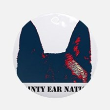 Pointy Ear Nation Ornament (Round)