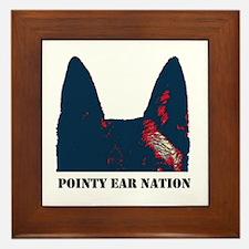 Pointy Ear Nation Framed Tile