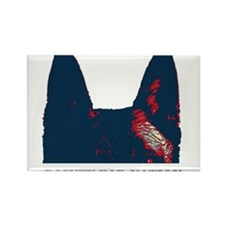 Pointy Ear Nation Rectangle Magnet