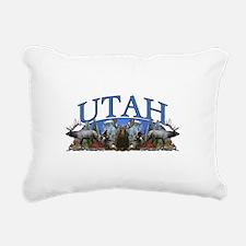Utah big game Rectangular Canvas Pillow