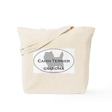 Cairn Terrier GRANDMA Tote Bag