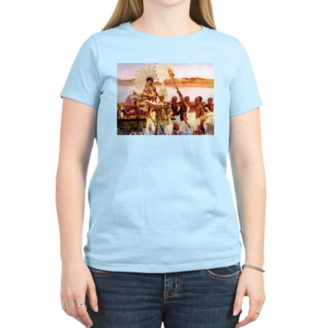 Finding Of Moses Women's Light T-Shirt