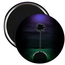 "Palm Tree 2.25"" Magnet (10 pack)"