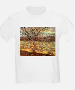 Van Gogh Apricot Trees In Blossom T-Shirt