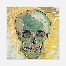 Vincent Van Gogh Skull Queen Duvet