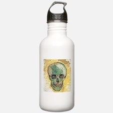 Vincent Van Gogh Skull Water Bottle