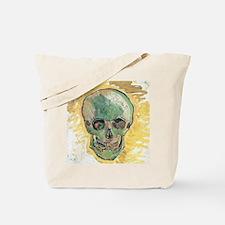 Vincent Van Gogh Skull Tote Bag