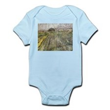 Vincent Van Gogh Rain Infant Bodysuit
