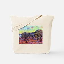 Van Gogh Olive Trees Tote Bag