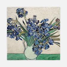Van Gogh Irises Queen Duvet