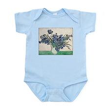 Van Gogh Irises Infant Bodysuit