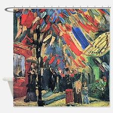 Van Gogh 14 July In Paris Shower Curtain