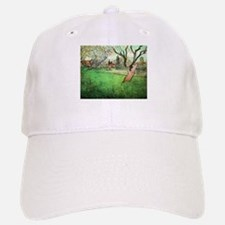 Van Gogh View of Arles with flowering tree Baseball Baseball Cap