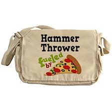 Hammer Thrower Pizza Messenger Bag