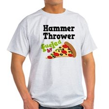 Hammer Thrower Pizza T-Shirt