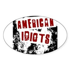 American Idiots Decal