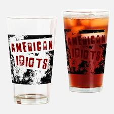 American Idiots Drinking Glass