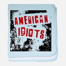 American Idiots baby blanket