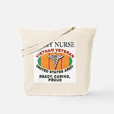 Army Nurse Tote Bag