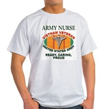 Army Nurse Ash Grey T-Shirt