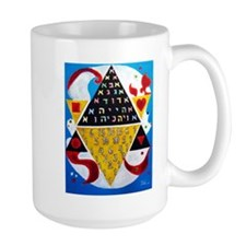 Cabalistic Message in Pascals Triangle Mug