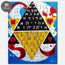 Cabalistic Message in Pascals Triangle Puzzle
