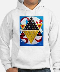 Cabalistic Message in Pascals Triangle Hoodie