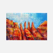 Desert, Southwest , colorful,art! Rectangle Magnet