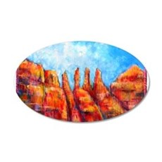Desert, Southwest , colorful,art! Wall Decal