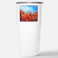 Desert, Southwest , colorful,art! Stainless Steel
