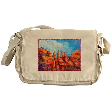 Desert, Southwest , colorful,art! Messenger Bag