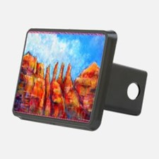 Desert, Southwest , colorful,art! Hitch Cover
