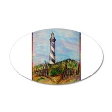 Lighthouse! Colorful art! Wall Decal