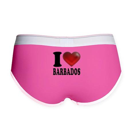 I Heart Barbados Women's Boy Brief