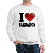 I Heart Barbados Sweatshirt