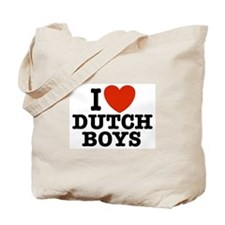 I love Dutch Boys Tote Bag