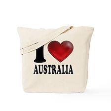 I Heart Australia Tote Bag