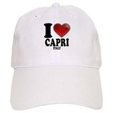 I Heart Baseball Capri Baseball Cap