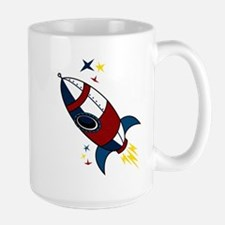 Rocket Large Mug