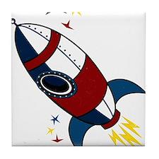 Rocket Tile Coaster
