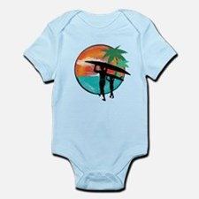Retro Summer Time Fun Infant Bodysuit