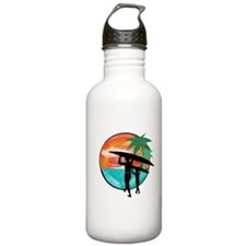 Retro Summer Time Fun Sports Water Bottle