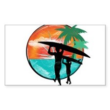 Retro Summer Time Fun Decal